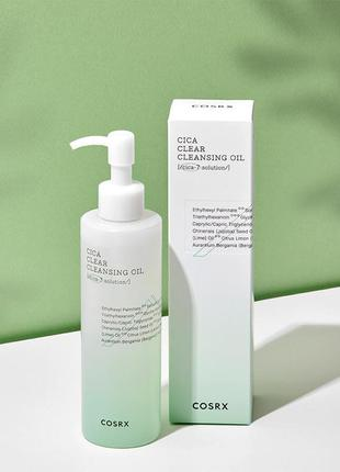 Cosrx гидрофильное масло cica clear cleansing oil 50ml