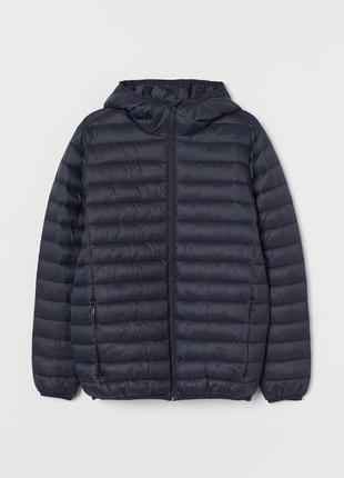 Мужская утепленная куртка h&m