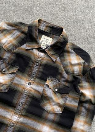 Хороша легка сорочка diesel в клітинку