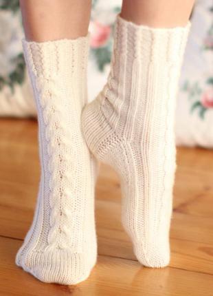 Уютные, теплые домашние тапочки-носочки