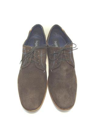 Мужские замшевые туфли bugatti р. 45