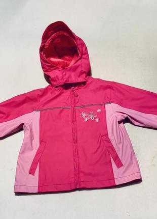 Курточка дождевик грязепруф прорезиненная palomino c&a