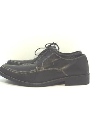 Мужские кожаные туфли р. 41