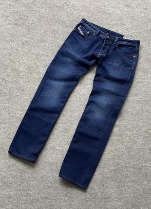 Круті джинси diesel industry larkee regular straight w33 l32
