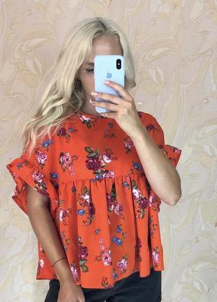 Блуза рубашка блузка оверсайз актуальная женская нарядная блузка