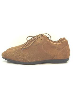 Мужские замшевые туфли geox р. 41