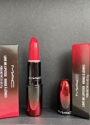 Шикарная красная помада love me lipstick 415 joie de vivre