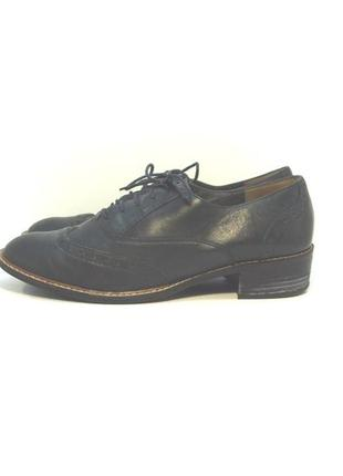 Женские кожаные туфли оксфорды paul green р. 39,5-40