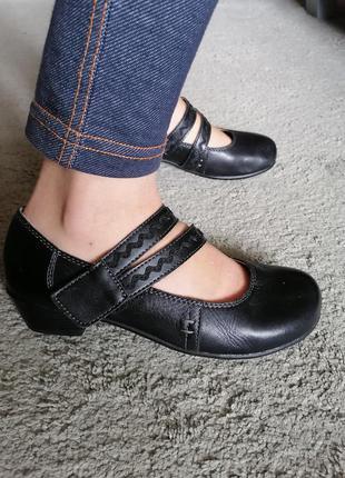 Комфортные туфли кожа полностью германия dr. jurgens