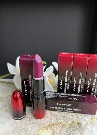 Шикарная стойкая помада  joie de vivre 415 love me lipstick