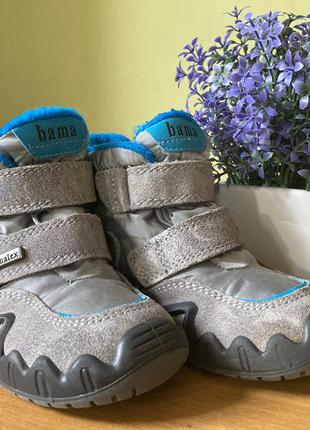 Детские ботинки bama