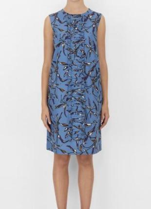 Платье хлопковое бавовняне платье рубашка нарядное