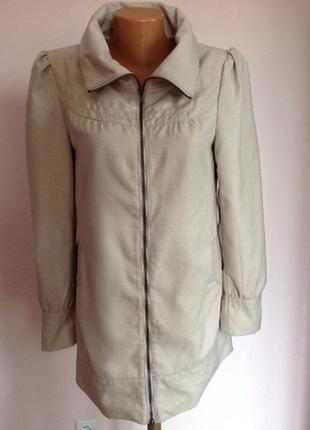 Очень красивый плащ лёгкое пальтишко, пальто,  тренч р.10-12 brend vero moda