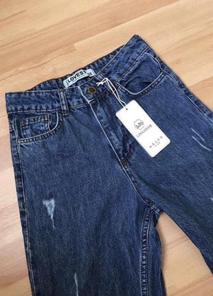 Джинси жіночі, mom jeans штани жіночі, джинсы штаны женские мои джинсы, джинсы котон zara джинси клеш джинси мом