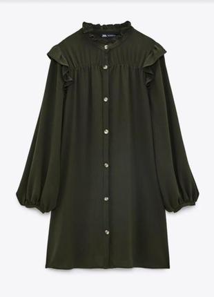 Плаття-сорочка zara