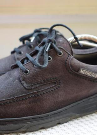 Кожаные туфли мокасины полуботинки mephisto р.41,5/42 27 см