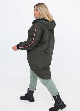 Стильная женская куртка весна/осень 50-52, 54-56, 58-60