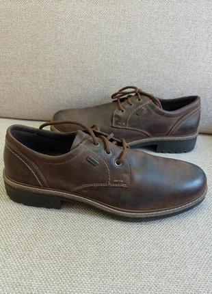 Шкіряні водонепроникні туфлі туфли gallus tex /розм.45 оригінал
