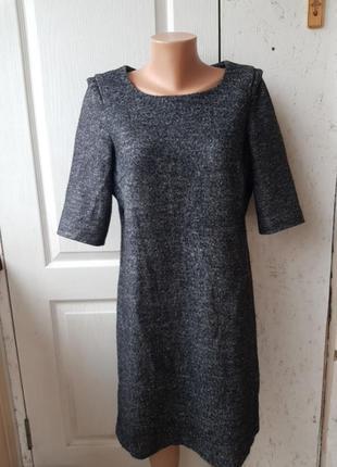 Теплое платье миди part two