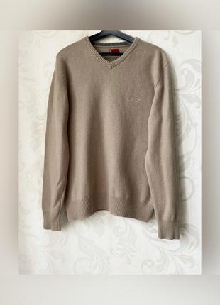 Оригинальный джемпер свитер шерсть levi's