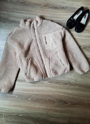 Курточка teddy шуба шубка
