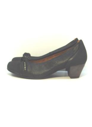 Оригинальные кожаные туфли gabor р. 37-38
