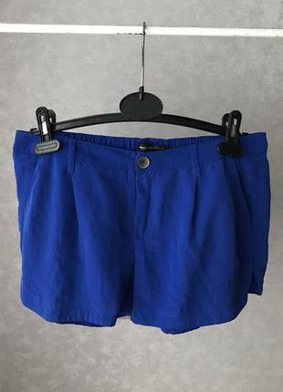 Синие шорты mango электрик р.m