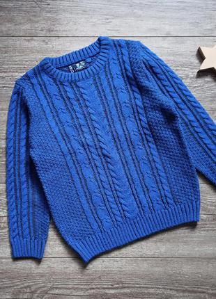 Красивый вязаный свитер tu 9 лет.
