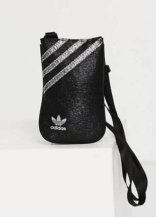 Adidas originals gn2142 невеличка сумка чохол для телефона на плече барсетка оригінал чорна