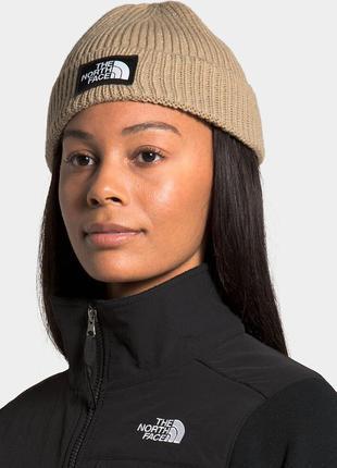 Оригінальна жіноча шапка the north face logo box cuffed (nf0a3fjxh7e1)
