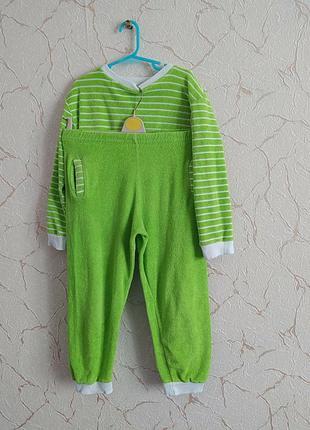 Домашний костюм пижама махровый