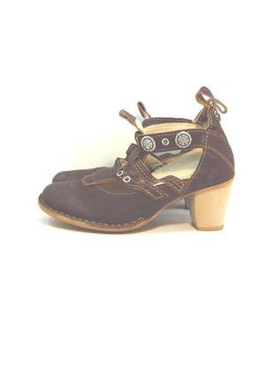 Женские кожаные туфли rovers р. 36