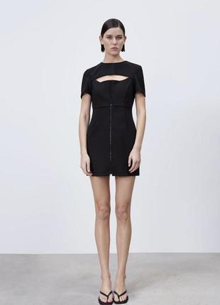 Маленьке чорне плаття zara