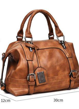 Женская винтажная сумка через плечо, кросс-боди, новая