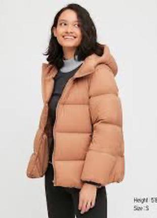Куртка uniqlo cocoon down jacket