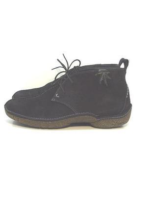 Женские замшевые ботинки clarcs р. 37-38