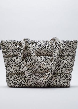 Фирменная сумка шоппер zara