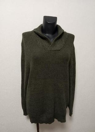 Хлопковый свитер xxl