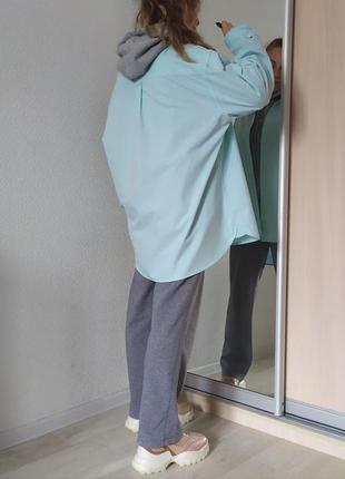 Рубашка оверсайз бойфренд