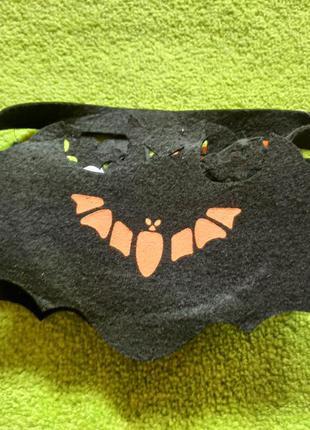 Сумка фетровая для конфет хеллоуин, halloween