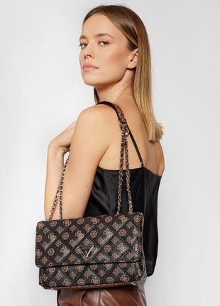 Красивая яркая сумка guess cessily оригинал