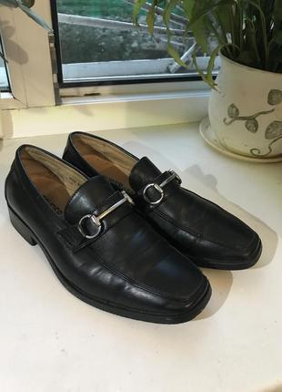 Туфли для мальчика в школу 23 см бренда fouger usa