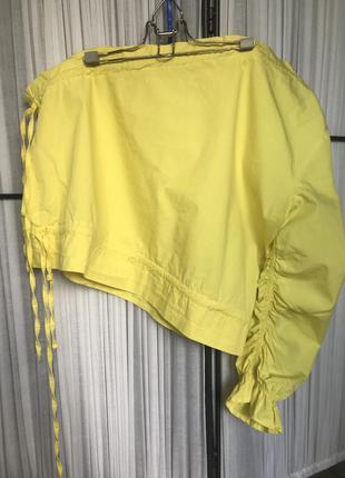 Блуза асимметрия на кулисках