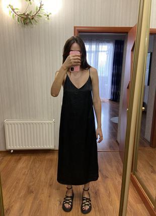 Нежное платье в бельевом стиле