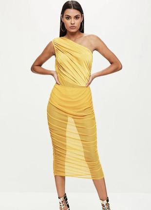 Актуальна сукня на одне плече з болі missguidef