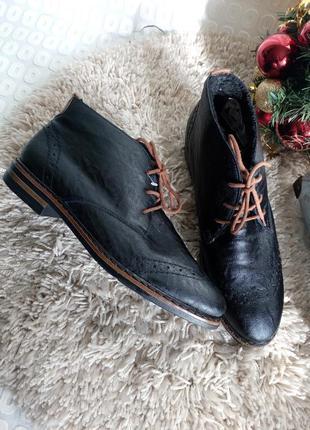 Теплие,классные ботинки от rieker. 37,38,39,40.