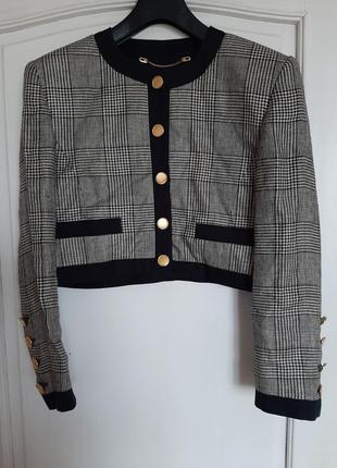 Жакет пиджак винтажный escada