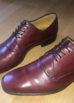 Оригинал классические элегантные  туфли полностью натуральная кожа
