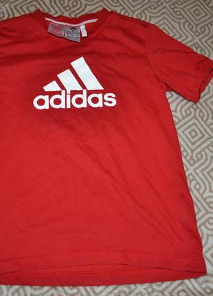 Футболка adidas climalite cotton оригинал на 11-12 лет в идеале
