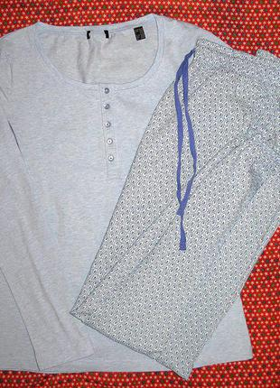 Домашний костюм пижама eu36/38 ru42/44 тсм tchibo германия